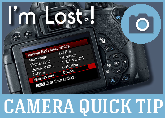 The Fastest Way To Exit The DSLR Camera Settings Menu