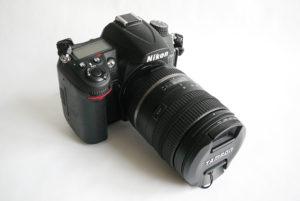 Nikon D7000 with Tamron 16-300 mm lens